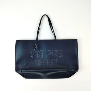 VICTORIA'S SECRET | NWT Black Extra Large Tote